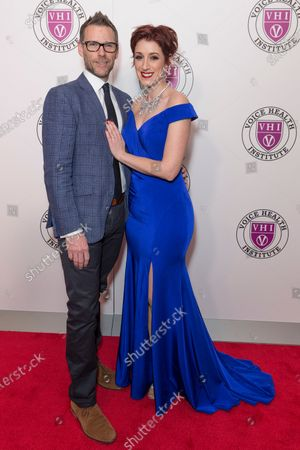 Stock Image of Jeremy Reed, Connie Fisher attend the Raise Your Voice concert to benefit 15th anniversary Voice Health Institute fund at Alice Tully Hall