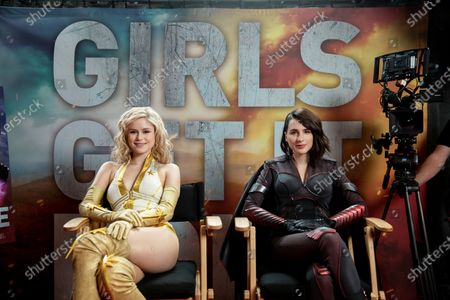 Erin Moriarty as Starlight/Annie January and Aya Cash as Stormfront