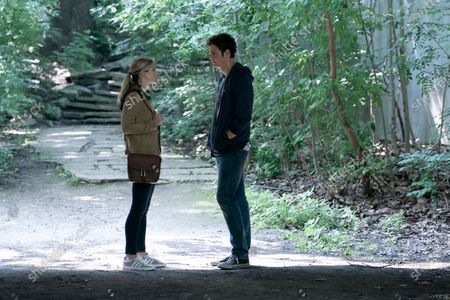 Erin Moriarty as Starlight/Annie January and Jack Quaid as Hughie Campbell