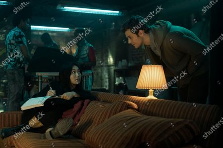 Karen Fukuhara as The Female and Jack Quaid as Hughie Campbell