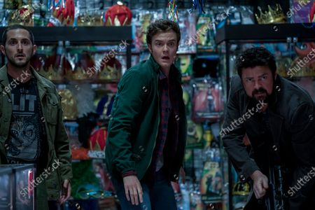 Tomer Capon as Frenchie, Jack Quaid as Hughie Campbell and Karl Urban as Billy Butcher