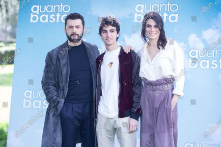Editorial photo of 'Quanto Basta' film photocall, Casa del Cinema, Rome, Italy - 29 Mar 2018