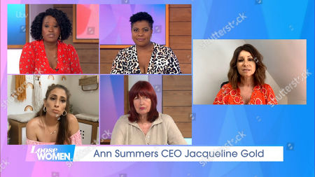 Editorial picture of 'Loose Women' TV Show, London, UK - 12 Aug 2020