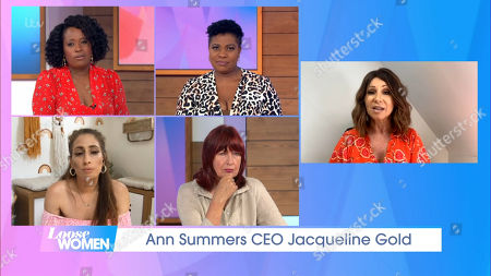 Editorial image of 'Loose Women' TV Show, London, UK - 12 Aug 2020