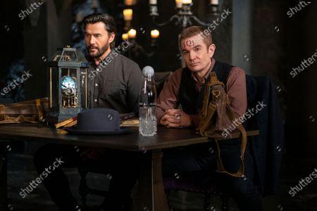 Stock Photo of Steve Bacic as Malachai and James Marsters as Xavier