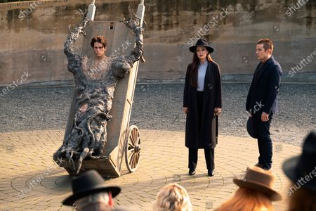 Editorial photo of 'The Order' TV Show, Season 2 - 2020