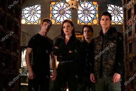Thomas Elms as Hamish Duke, Katharine Isabelle as Vera Stone, Jake Manley as Jack Morton and Adam DiMarco as Randall Carpio