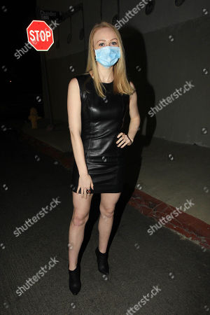Editorial image of Rachelle Henry out and about, Los Angeles, USA - 11 Aug 2020