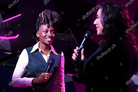 Stock Picture of Little Simz and Tiffany Calvar