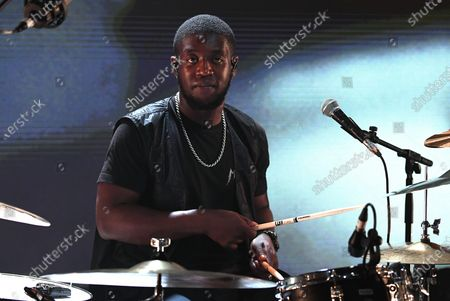 Stock Photo of Femi Koleoso - Tony Allen Tribute Performance