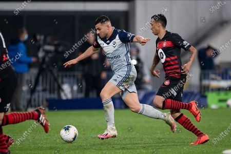 Editorial image of Western Sydney v Melbourne Victory, A-League, Football, Bankwest Stadium, Sydney, Australia - 12 Aug 2020
