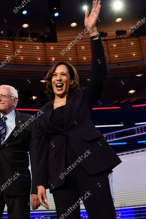 Editorial picture of Joe Biden picks U.S. Senator Kamala Harris as his running mate for VP, Miami, Florida, USA - 11 Aug 2020