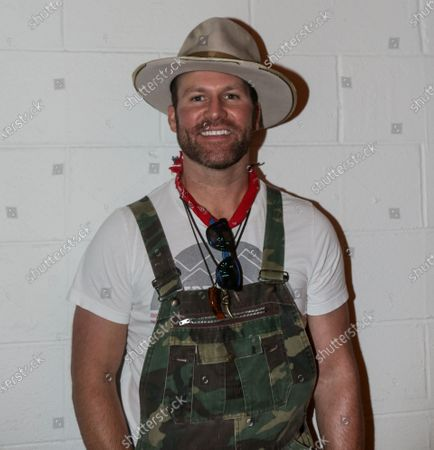 Singer/Songwriter Drake White poses for a photo at the Outdoor Countrywriters round at The Listening Room Cafe