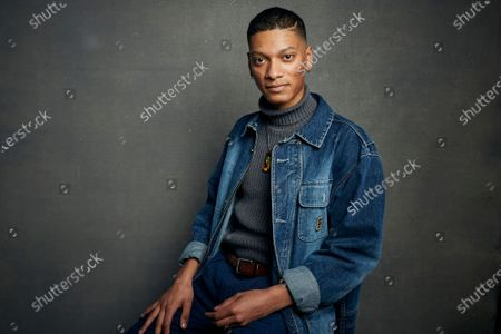 """Rene Otero poses for a portrait to promote the film """"Boys State"""" during the Sundance Film Festival in Park City, Utah on . In the documentary, directors Jesse Moss and Amanda McBaine attend a week-long program in Austin, Texas, where 1,100 high school boys attempt to build a mock government"""