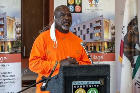 Editorial picture of Encanto Village affordable housing opening, San Diego, USA - 31 Jul 2020