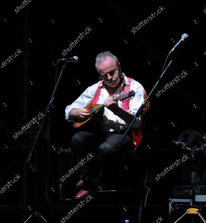 Editorial picture of Renzo Arbore with  Italian Apulian Orchestra, Italy - 02 Aug 2020