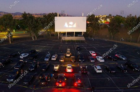 Editorial image of A24 presents 'Boys State' special drive-in screening, West Wind Capitol, San Jose, USA - 12 Aug 2020