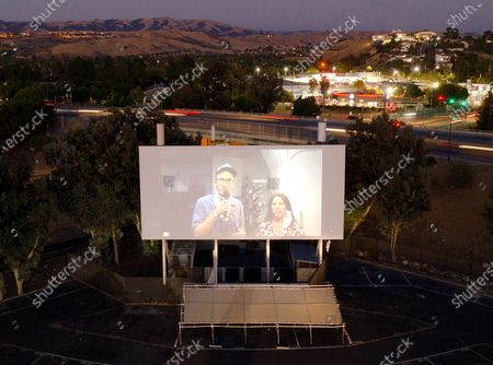 Editorial picture of A24 presents 'Boys State' special drive-in screening, West Wind Capitol, San Jose, USA - 12 Aug 2020