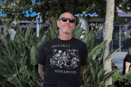 Stock Photo of Musician Mike Ness of Social Distortion