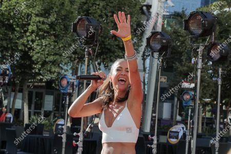 Stock Picture of Singer Annie Bosko