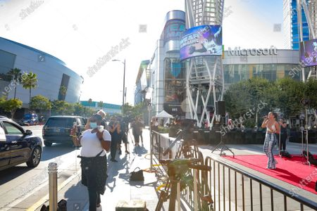 Editorial image of Live Events Coalition & Sterling Engagements hosts One Voice Activation, Los Angeles, USA - 12 Aug 2020