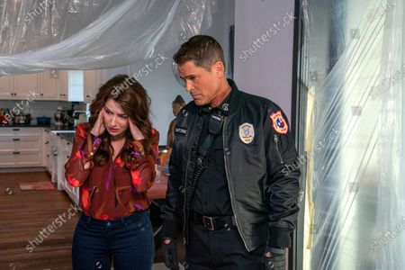 Erin Karpluk and as Pepper and Rob Lowe as Owen Strand