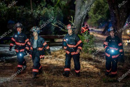 Ronen Rubenstein as T.K. Strand, Natacha Karam as Marjan Marwani, Rob Lowe as Owen Strand and Julian Works as Mateo Chavez