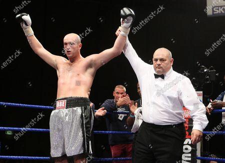 Editorial image of Boxing, Goresbrook Leisure Centre, Dagenham, UK - 18 Jul 2008
