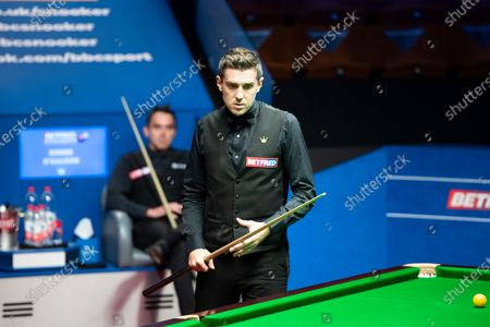Editorial photo of Exclusive - Betfred World Snooker Championship, Day Fourteen, Crucible Theatre, Sheffield, UK - 13 Aug 2020