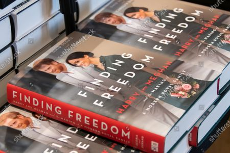 Stock Image of Finding Freedom, Biography of Prince Harry and Meghan Markle on sale