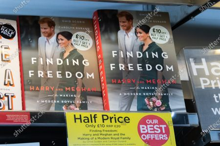 Stock Photo of Finding Freedom, Biography of Prince Harry and Meghan Markle on sale