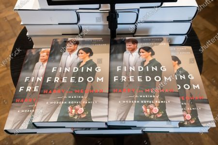 Stock Picture of Finding Freedom, Biography of Prince Harry and Meghan Markle on sale