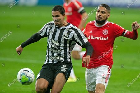 Editorial photo of Internacional v Santos, Brazilian Serie A, Football, Beira Rio Stadium, Porto Alegre, Brazil - 13 Aug 2020