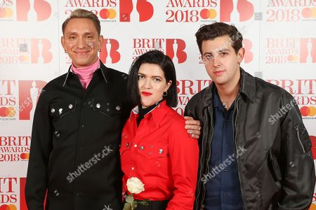 Editorial photo of The BRIT Awards 2018, The O2, London, UK - 21 Feb 2018