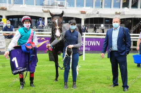 Editorial photo of Horse Racing from Leopardstown, Ireland - 13 Aug 2020