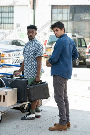 Stock Picture of Phillip Johnson Richardson as Benny and Sean Teale as Ethan