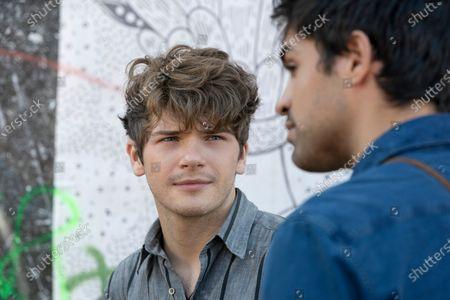 Colton Ryan as Samuel and Sean Teale as Ethan