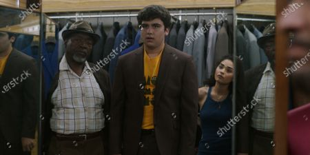 Chuck Cooper as Percy, Kevin Valdez as Louie and Brittany O'Grady as Bess