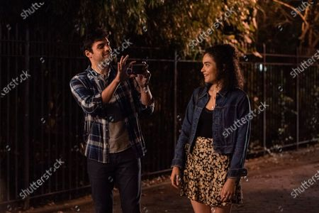 Stock Photo of Sean Teale as Ethan and Brittany O'Grady as Bess