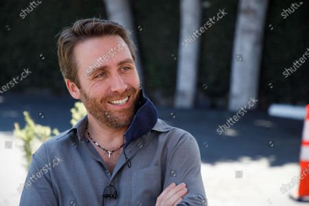 Stock Photo of Philippe Cousteau Jr., grandson of explorer Jacques Cousteau talks about environmental issues during an interview in West Hollywood, California, USA, 11 August 2020 (issued 13 August 2020).