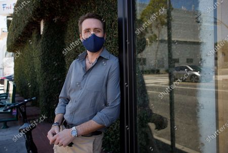 Editorial image of Philippe Cousteau Jr. in Los Angeles, California, West Hollywood, USA - 11 Aug 2020