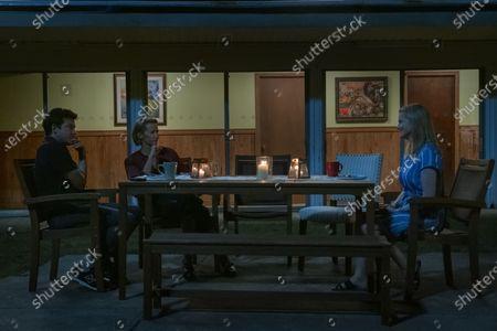 Jason Bateman as Martin 'Marty' Byrde, Janet McTeer as Helen Pierce and Laura Linney as Wendy Byrde