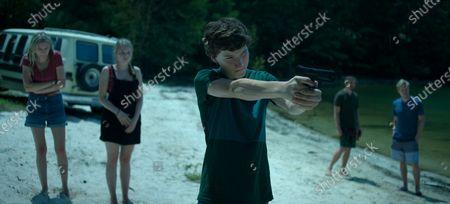 Sofia Hublitz as Charlotte Byrde and Skylar Gaertner as Jonah Byrde