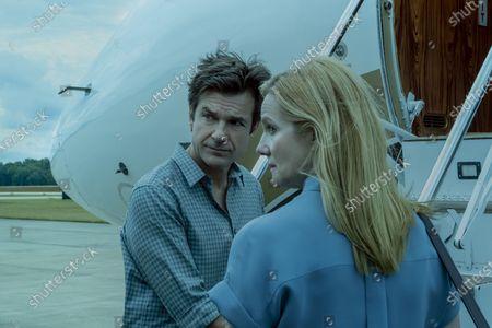 Stock Image of Jason Bateman as Martin 'Marty' Byrde and Laura Linney as Wendy Byrde