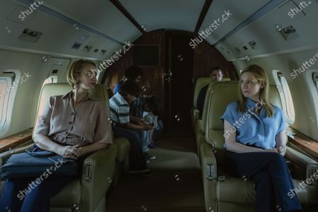 Stock Picture of Janet McTeer as Helen Pierce and Laura Linney as Wendy Byrde