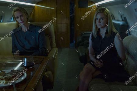 Janet McTeer as Helen Pierce and Laura Linney as Wendy Byrde