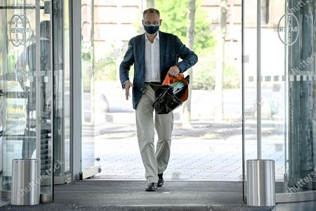 Editorial image of CEO Werner Baumann of Bayer AG, Leverkusen, Germany - 13 Aug 2020