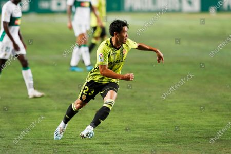 "Shinji Kagawa (Zaragoza) - Football / Soccer : Spanish ""La Liga SmartBank"" promotion playoffs semifinals 1st leg match between Elche CF 0-0 Real Zaragoza at the Estadio Manuel Martinez Valero in Elche, Spain."