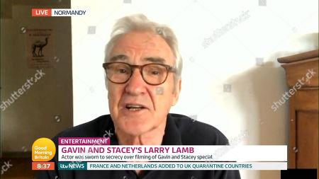 Stock Image of Larry Lamb