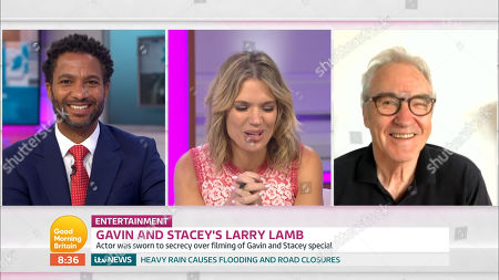 Editorial photo of 'Good Morning Britain' TV Show, London, UK - 14 Aug 2020